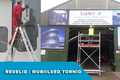 Redelid / Mobilsed Tornid / Tööplatvormid